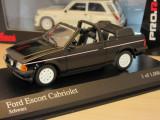 Macheta Ford Escort cabriolet Minichamps 1:43