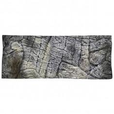 Fundal acvariu 3D 200 x 50cm – GRI FIN