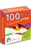 100 de cuvinte in limba germana. Joc bilingv