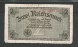 GERMANIA  NAZISTA  2 MARCI  REICHSMARK  1940 [49]  P- 137a , 7 cifre  , Litera K