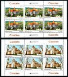 Romania 2017, LP 2142 d, EUROPA Castele, minicoli de 6, MNH! LP 146,30 lei, Organizatii internationale, Nestampilat