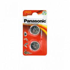Set 2 x baterie 3V CR 2025 pentru telecomanda auto, Panasonic AllCars