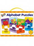 Set 26 de puzzle-uri Galt Alphabet, 2 piese, 3-5 ani