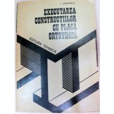 EXECUTAREA CONSTRUCTIILOR CU PLACA,BUCURESTI 1984-ION STRATESCU