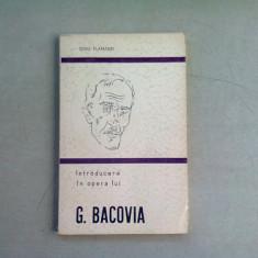 INTRODUCERE IN OPERA LUI G. BACOVIA - DINU FLAMAND