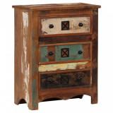 Scrin, 60 x 30 x 75 cm, lemn masiv reciclat, vidaXL