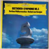 LP Beethoven – Symphonie Nr. 5 [Herbert von Karajan, Berliner Philharmoniker], VINIL, Deutsche Grammophon