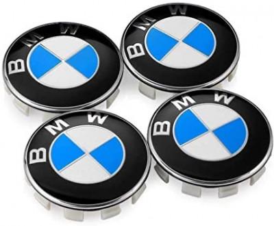 Capacele jante aliaj BMW, int/ext 65mm/68mm set 4 bucati foto