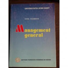 MANAGEMENT GENERAL - IONEL DUMBRAVA