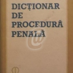 Dictionar de procedura penala