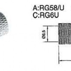 Mufa f 6,8 - 100buc