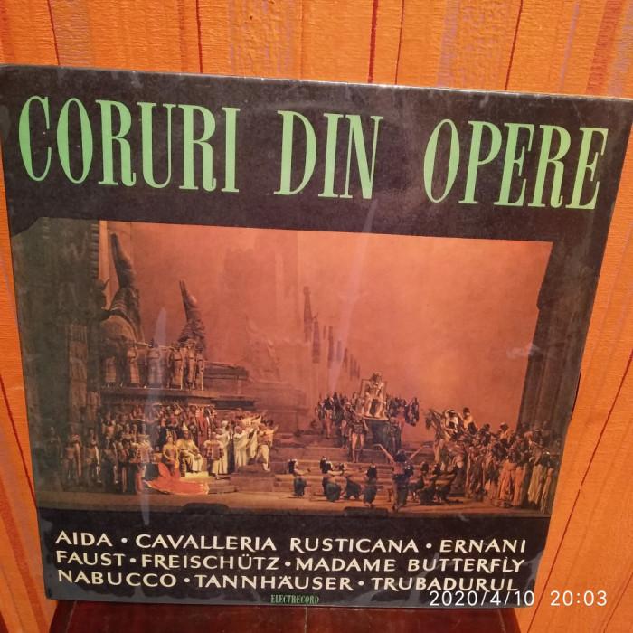 -Y- CORURI DIN OPERE - AIDA / CAVALERIA RUSTICANA / ERNANI / FAUST / TRUBADURUL