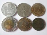 Cumpara ieftin Lot 6 monede straine diferite,vedeti imaginile