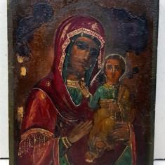 Icoana Ruseasca, Maica Domnului cu Pruncul, Sec. XIX