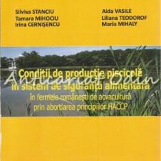 Conditii De Productie Piscicola In Sistem De Siguranta Alimentara In Ferme