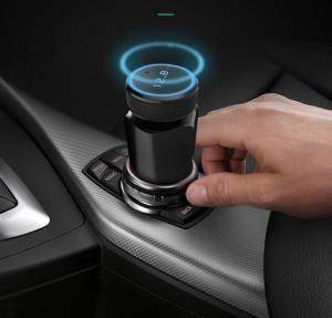 Modulator FM Auto T18 Hands-Free Car Kit Bluetooth MP3 Player Wireless Design Slim