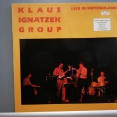 Klaus Ignatzek Group – Live in Switzerland (1986/Nabel/RFG)  - Vinil/Jazz/M