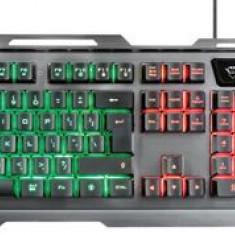 Kit Gaming Tastatura si mouse Trust GXT 845 Tural (Negru)