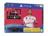 Consola Sony PlayStation 4 1TB + joc FIFA20 + Voucher FUTpoints + Voucher PlayStation Plus 14 zile + 2 Controllere DS4 v2