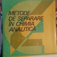 Metode de separare in chimia analitica – Elena Jercan