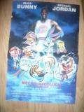 Afis Film -Meciul Secolului -Space Jam - cu Bugs Bunny si Michael Jordan 1997