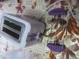 Prajitor de paine Emerio design toaster 2 felii,violet