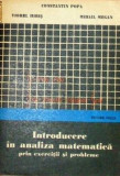 Introducere in analiza matematica  Constantin Popa