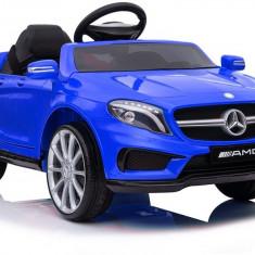 Masinuta electrica Mercedes GLA45, albastru metalizat