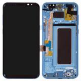 Display Cu Touchscreen Samsung Galaxy S8 Plus G955 Original Albastru