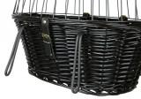 Cos Nuiele 50x41x35 cm pentru Bicicleta Negru 2818