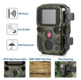 Camera De Vânătoare Mini 300 Trail 12MP Night Vision Full Hd 1080P - 235