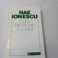 CURS DE ISTORIE A LOGICII - NAE IONESCU