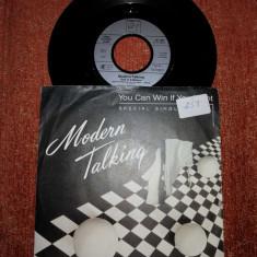 "Modern Talking You can win if you want single vinil vinyl 7"""