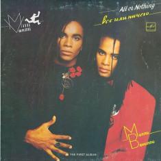 Milli Vanilli  – All Or Nothing (LP - Rusia - VG), VINIL