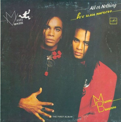 Milli Vanilli  ‎– All Or Nothing (LP - Rusia - VG) foto