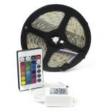 Banda RGB 150 SMD 5050 12v cu controler si telecomanda 44 taste ManiaLight