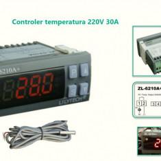 Termostat electronic digital Controler temperatura 220v 30A