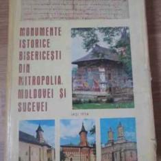 MONUMENTE ISTORICE BISERICESTI DIN MITROPOLIA MOLDOVEI SI SUCEVEI - COLECTIV