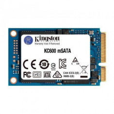 SSD Kingston KC600 256GB, SATA3, mSATA