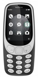 Nokia 3310 (2017) 3G Dual Sim Charcoal