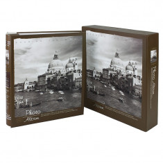 Album Old City Venetia, 200 fotografii 10x15 cm, slip-in, memo, cutie