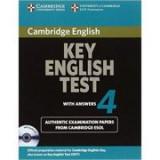 Cambridge: Key English Test 4 - Self Study Pack (KET Practice Tests)