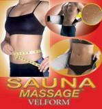 Centura de masaj si efect de sauna Velform