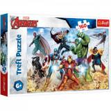 Cumpara ieftin Puzzle Trefl, Avengers, Gata pentru a salva lumea, 160 piese
