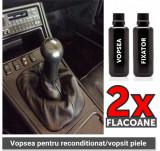 Vopsea reconditionat manson schimbator din piele, (vopsea + lac fixator), 4World