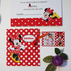 Invitatie botez Minnie Mouse OPIS069