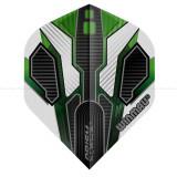 Fluturas darts Winmau ALPHA standard verde/alb/gri
