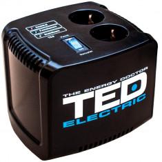 Stabilizator de retea maxim 1000VA / 500W Ted 1000 foto
