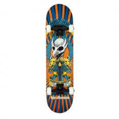Skateboard Birdhouse Stage 3 Emblem Circus Orange 7.75 inch