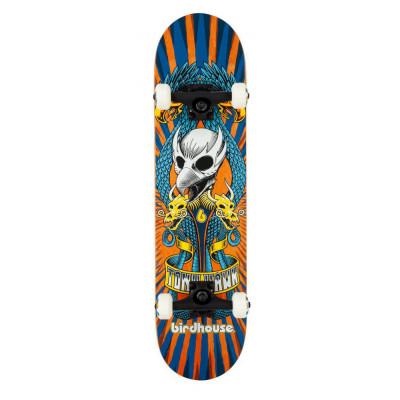 Skateboard Birdhouse Stage 3 Emblem Circus Orange 7.75 inch foto